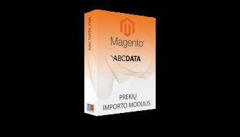 ABC DATA prekių importo modulis